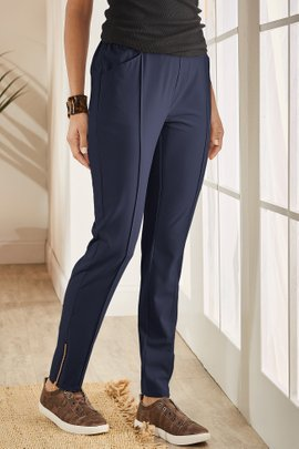 Go Lively Convertible Zip-Hem Pants