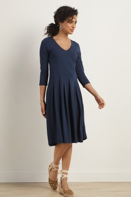 Birdsong Seamed Dress