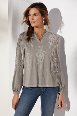 Avisa Embroidered Top