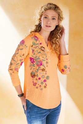 Antalya Embroidered Top