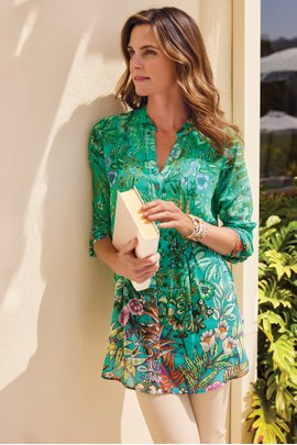 Luau Garden Shirt