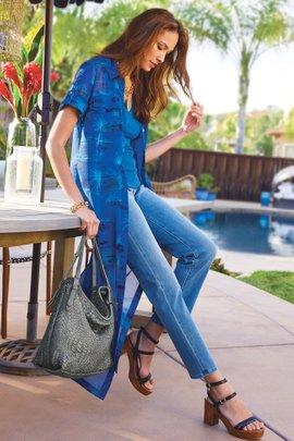 Women Aquatica Shirtdress & Slip