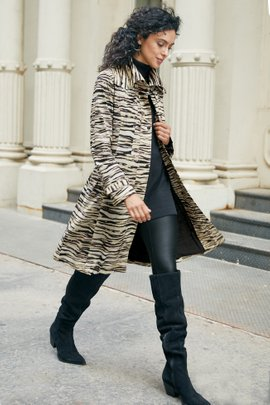 Go Lively Trench Coat