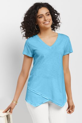 Waves of Happiness Layered Tee