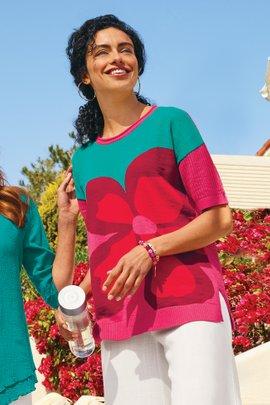 Biosphere Sweater Tee