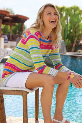 Oasis Stripe Sweater