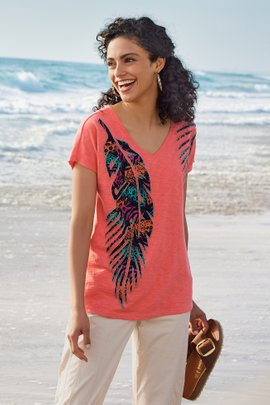 Beachy Graphic Tee