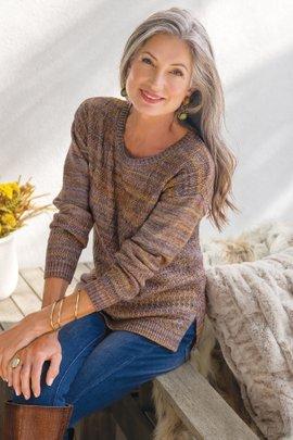 Mina Spacedye Sweater