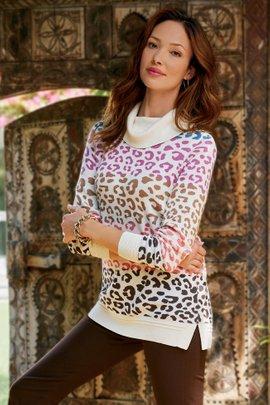 Leone Jacquard Sweater