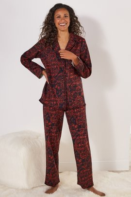 Night Divine Flannel PJ Set