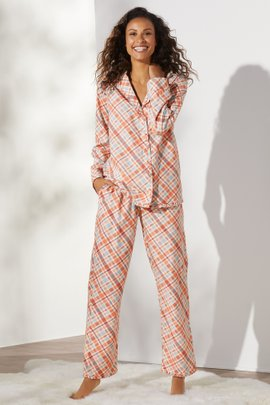 Night Divine Flannel PJ Set