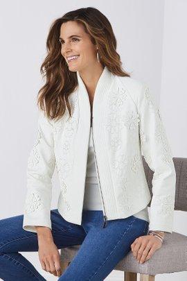 Alba Faux Leather Jacket