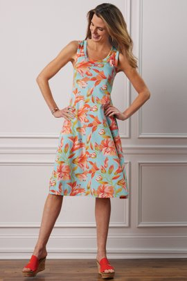 Short Santiago Lily Dress