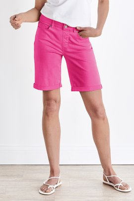 Ultimate Denim Pull On Relaxed Shorts
