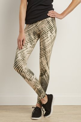 Superslim Shibori Leggings