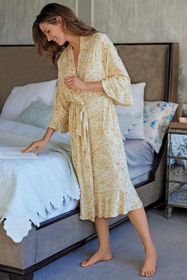 Blissful Bamboo Magnolia Gardens Robe