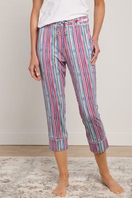 Blissful Bamboo Brighten Up Crop Pants
