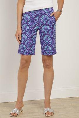 Superla Stretch Pull-On Palladian Shorts
