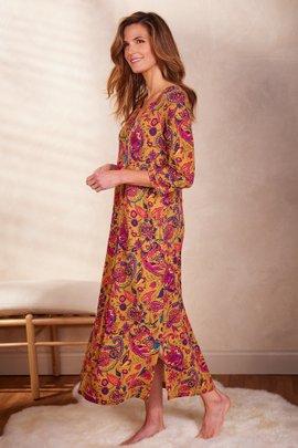 Blissful Bamboo Jasmina Henley Dress