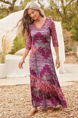 Tibetan Maxi Dress