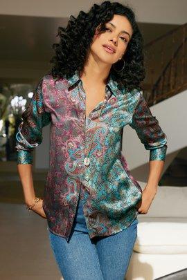 Lilit Silk Shirt