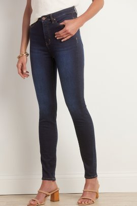 Supremely Soft High-Rise Skinny Jeans