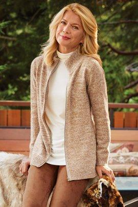 Garett Zip Cashmere Sweater