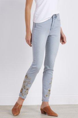 The Ultimate Denim Ice-Kissed Straight Leg Jeans