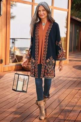 Fiberworks Kimono