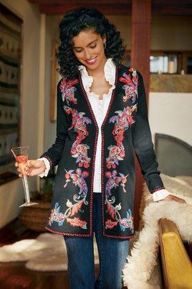 Galerias Sweater Coat