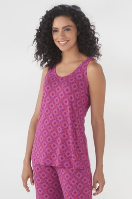 Blissful Bamboo Dreaming Violet Cami