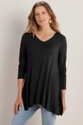 Tahira V-neck Long Sleeve Tunic
