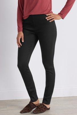 Ultimate Denim Black Pull-On Skinny Jeans