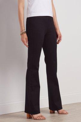 Ultimate Denim Black Pull-On Bootcut Jeans