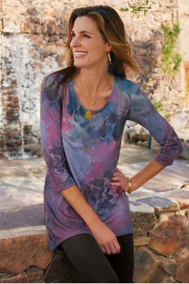 Caterina Sublimation Top