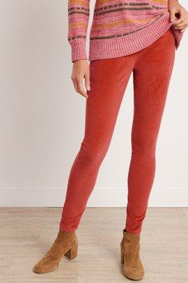 Corduroy Pull-On Skinny Pants