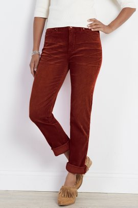 Corduroy Girlfriend Pants