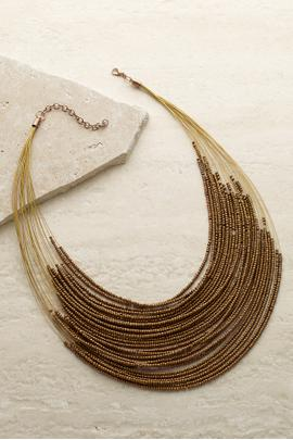 Seed Bead Layers Necklace