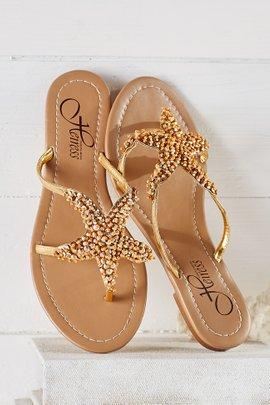 Starfish Sandals