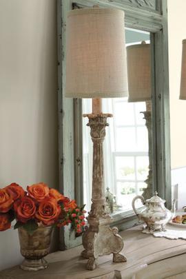 Candlestick Buffet Lamp