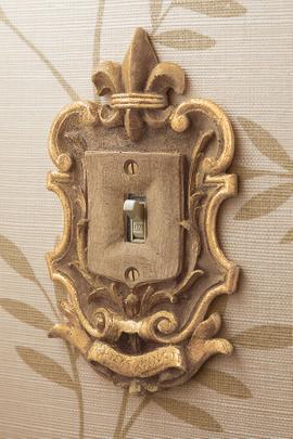 Fleuri Traditional Light Switch Plates