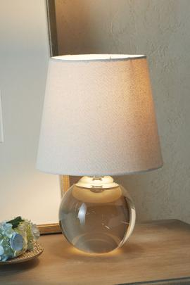 Crystal Globe Table Lamp
