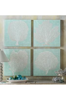 Hand-Painted Oceana Canvas