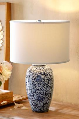 Blue Eden Table Lamp