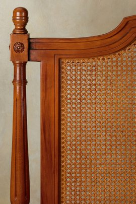 Benedetta Caned Bed