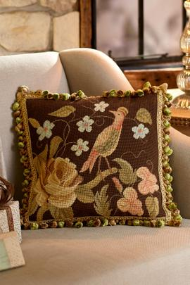 Luxembourg Needlepoint Pillow