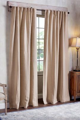Flanders Linen Custom Length Drapery