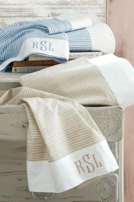 Côte d'Sud Striped Sheet Set