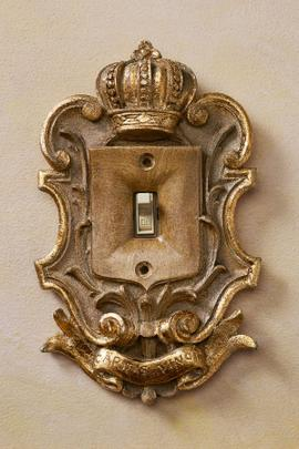 Majesty Light Switch Plate