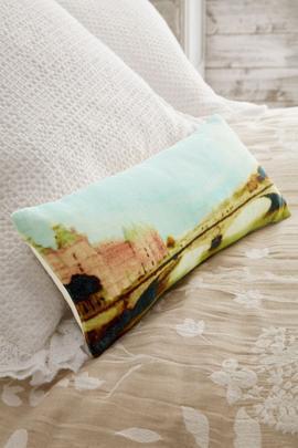 Le Pont Velvet Pillow